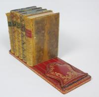 Antique Leather Book Slide Dreyfous of Paris (7 of 9)