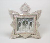 Adoration of the Magi, Diorama in Mother of Pearl