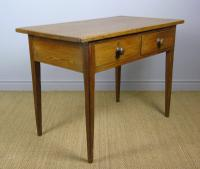 Early Victorian Antique Pine Table (4 of 8)
