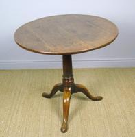 George III Country Oak Circular Tip Top Table (2 of 8)