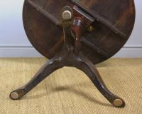 George III Country Oak Circular Tip Top Table (8 of 8)
