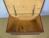 Antique Pine Scumbled Box Coffee Table Trunk (8 of 9)