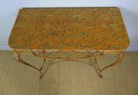 Vintage Hand Painted Italian Metal Hall Table (3 of 8)