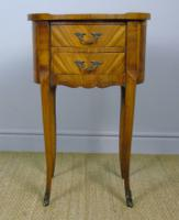 Neat Antique French Cabinet Lamp / Side Table Bedside (2 of 6)