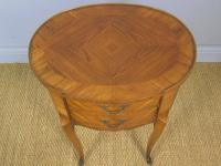 Neat Antique French Cabinet Lamp / Side Table Bedside (3 of 6)