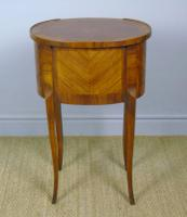 Neat Antique French Cabinet Lamp / Side Table Bedside (6 of 6)
