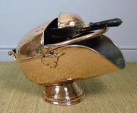 Victorian Copper Helmet Coal Scuttle (2 of 7)