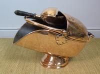 Victorian Copper Helmet Coal Scuttle (3 of 7)