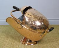 Victorian Copper Helmet Coal Scuttle (4 of 7)