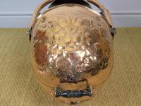 Victorian Copper Helmet Coal Scuttle (5 of 7)