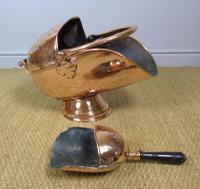 Victorian Copper Helmet Coal Scuttle (6 of 7)