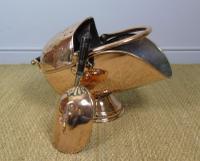 Victorian Copper Helmet Coal Scuttle (7 of 7)