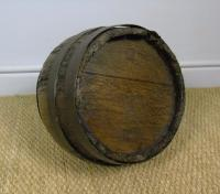Charming Coopered Oak 19th Century Cider Jug (6 of 7)