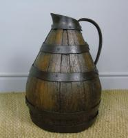 Charming Coopered Oak 19th Century Cider Jug (7 of 7)