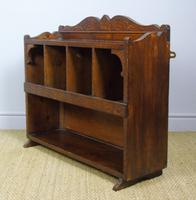 Antique Country Pine Wall Shelves / Table Display Cabinet (5 of 6)