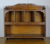 Antique Country Pine Wall Shelves / Table Display Cabinet (3 of 6)