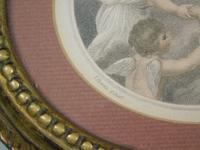Hand Coloured Stipple Engraving of Putti Bartolozzi (3 of 5)