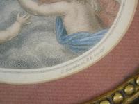 Hand Coloured Stipple Engraving of Putti Bartolozzi (4 of 5)