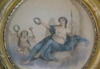Antique Pair of Hand Coloured Engravings Bartolozzi (4 of 7)