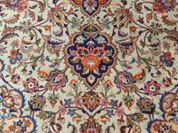 Antique Kashan Carpet Room Size (6 of 9)