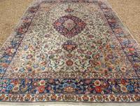 Antique Kashan Carpet Room Size (4 of 9)