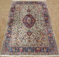 Antique Kashan Carpet Room Size (2 of 9)