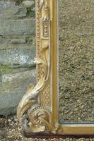 Grand 19th Century Arched Gilt Mirror Floor Standing (6 of 7)
