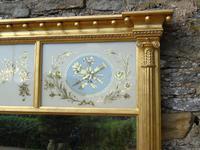 Fabulous Large Regency Overmantel Mirror Verre Eglomise (3 of 7)