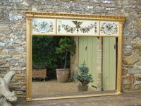 Fabulous Large Regency Overmantel Mirror Verre Eglomise (7 of 7)