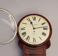 Fine London Fusee Wall Clock C.1830 (3 of 5)