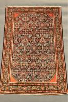 Antique Feraghan Carpet C.1900 (4 of 7)