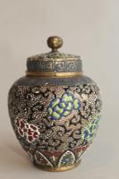 Antique Japanese Enamelled Vase Meiji (7 of 8)