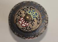Antique Japanese Enamelled Vase Meiji (8 of 8)