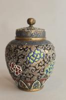 Antique Japanese Enamelled Vase Meiji (2 of 8)