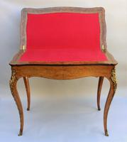 Antique Louis XV Burr Walnut Table 19th Century