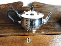 Charles Edwards Silver Teapot 1917