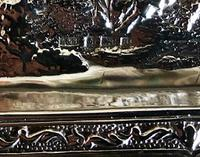 Green Man Silver Card Tray c.1900 (4 of 5)