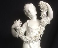 "Rare Derby Biscuit Porcelain Figure ""Flora"" c.1790 (5 of 6)"