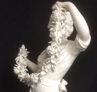 "Rare Derby Biscuit Porcelain Figure ""Flora"" c.1790 (4 of 6)"