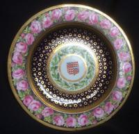 Very Rare Pendock Barry Derby Dinner Plate 1798 (3 of 3)