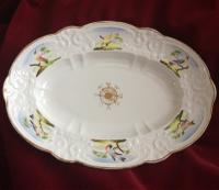 Swansea Oval William Pollard Decorated Dish c.1816
