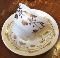 Welsh Swansea Porcelain Cup & Saucer c.1817