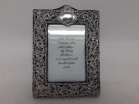 Late Victorian Silver Photo Frame