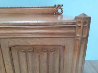 Bold & Impressive Oak Sideboard c.1920 (9 of 9)