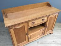 English Oak Arts & Crafts Sideboard (2 of 7)