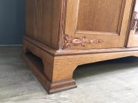English Oak Arts & Crafts Sideboard (4 of 7)