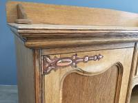 English Oak Arts & Crafts Sideboard (6 of 7)