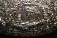 Burmese Silver Thabeik Bowl c.1890 (4 of 5)