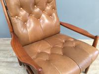 1960s Model Lacko Leather Chair (3 of 6)
