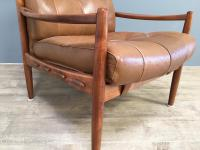 1960s Model Lacko Leather Chair (4 of 6)